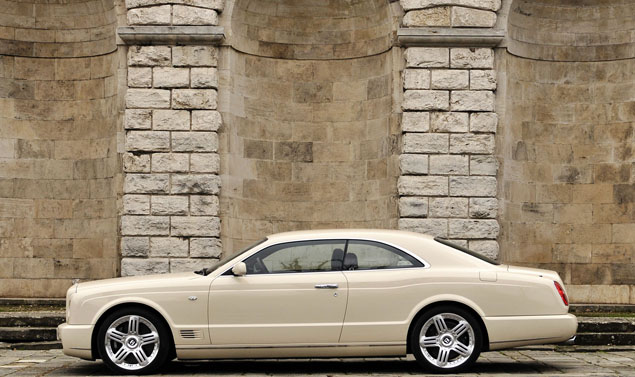 Bentley Brooklands profilo