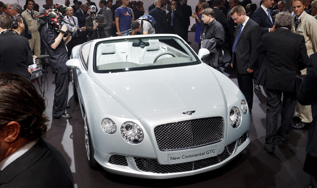 Bentley GTC - Frontale