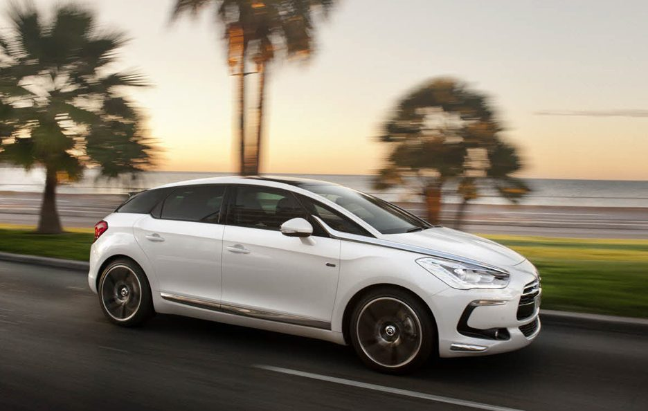 Citroen DS5 - Il laterale in motion