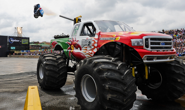 Ford Red Dragon - Il Monster Truck