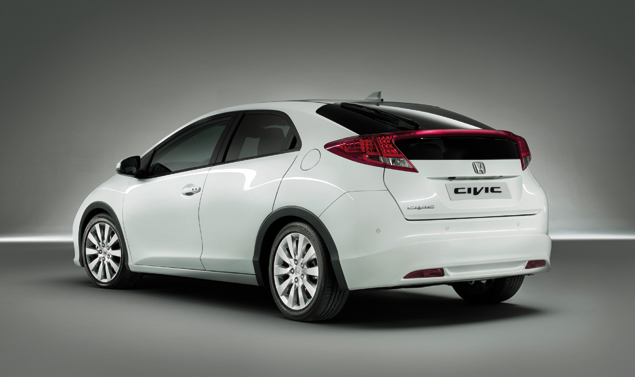 Honda Civic 2012 - Il retrotreno