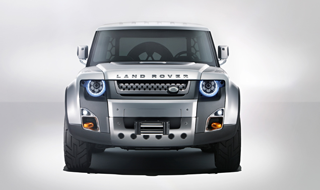 Land Rover DC 100 - Frontale