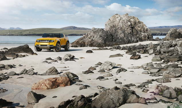 Land Rover DC100 Sport - Tra le rocce