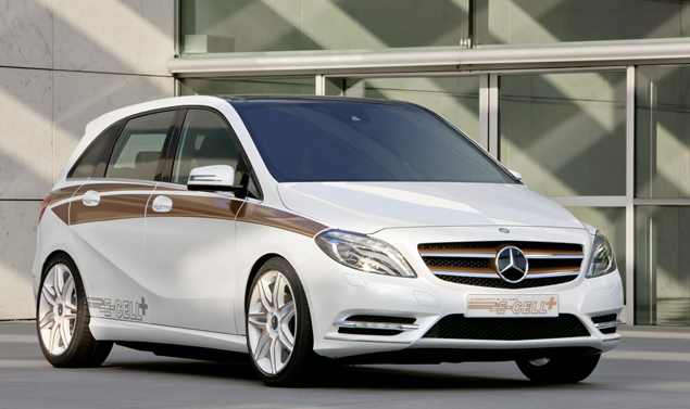 Mercedes Classe B E-Cell