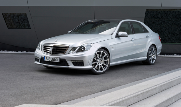 Mercedes E 63 AMG Frontale