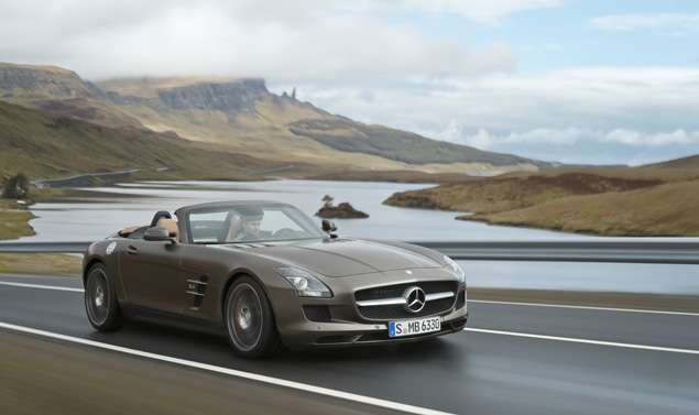 Mercedes SLS AMG Roadster - Panorama
