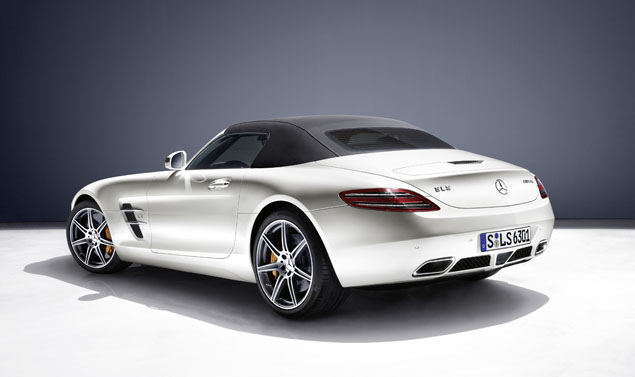 Mercedes SLS AMG Roadster - Posteriore White