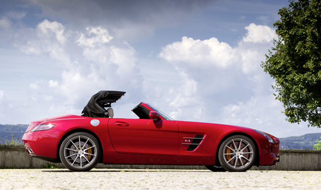 Mercedes SLS AMG Roadster - Profilo Red