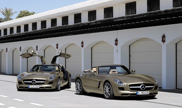 Mercedes SLS AMG Roadster - Stile