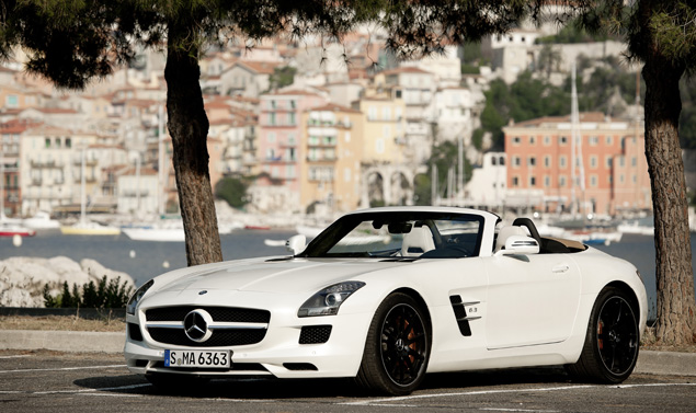 Mercedes SLS AMG Roadster - Stile White