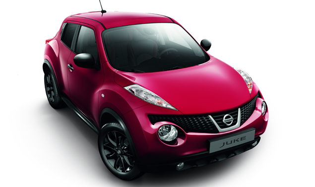 Nissan Juke Kuro Limited Edition - In rosso