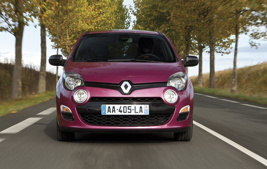 Renault Twingo 2012 - Frontale in motion