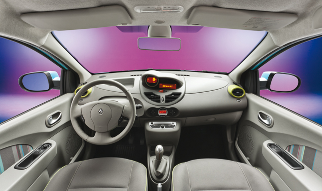 renault twingo 2012 restyling foto panoramauto. Black Bedroom Furniture Sets. Home Design Ideas