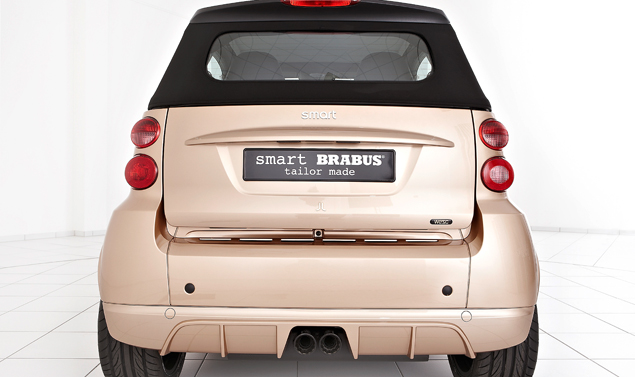 Smart ForTwo Brabus by WeSC - Il posteriore