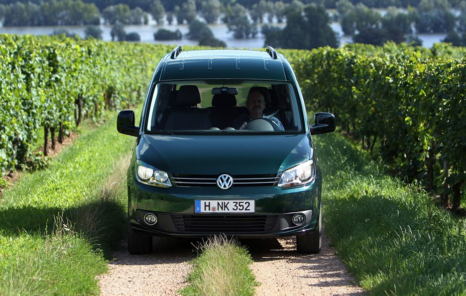 Volkswagen Caddy - 4MOTION - Frontale