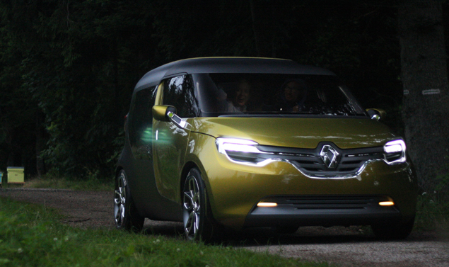 Renault Frendzy, nuove immagini