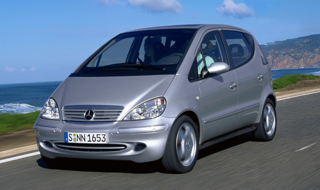 Mercedes classe A W168 restyling Lunga