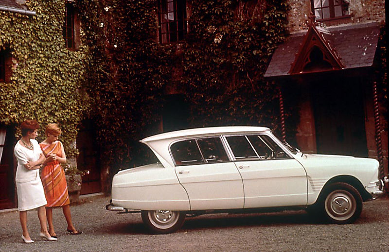 Le auto Nightmare - Citroen AMI6 - Ma a cosa serve (foto Wikipedia)