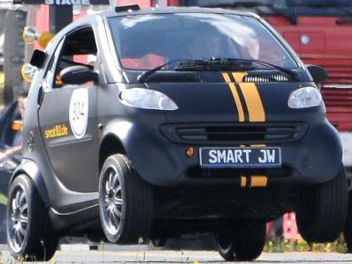 Smart 407 Bolide: impenna!