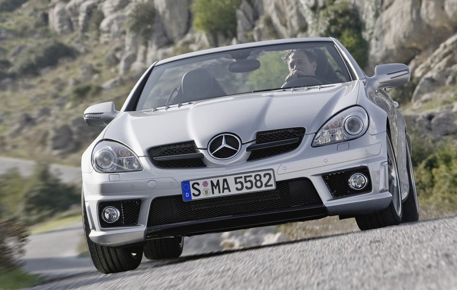 44 - Mercedes SLK 55 AMG seconda generazione restyling frontale