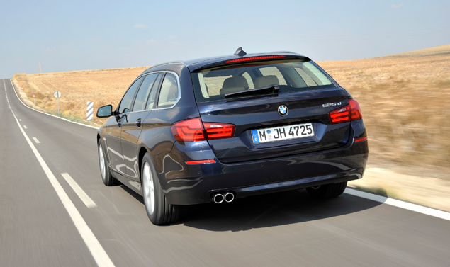 BMW 525d - Posteriore