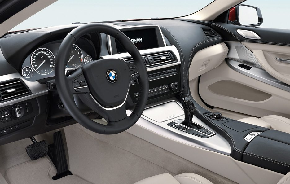 BMW serie 6 Coupé interni