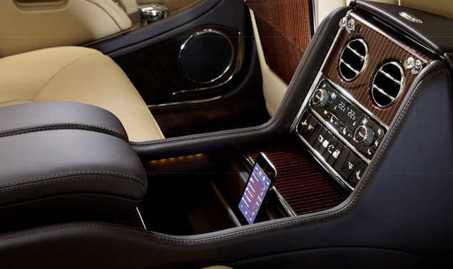 Bentley Mulsanne Executive Interior Concept - Pggiabraccia centrale
