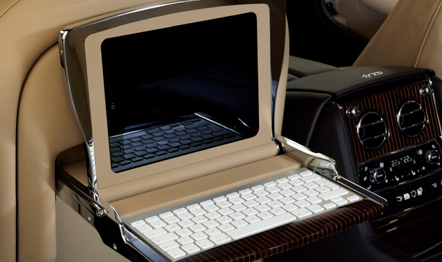 Bentley Mulsanne Executive Interior Concept - Supporti iPad