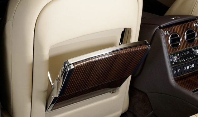 Bentley Mulsanne Executive Interior Concept - iPad