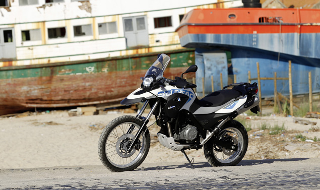 Bmw G 650 GS Sertao - Frontale