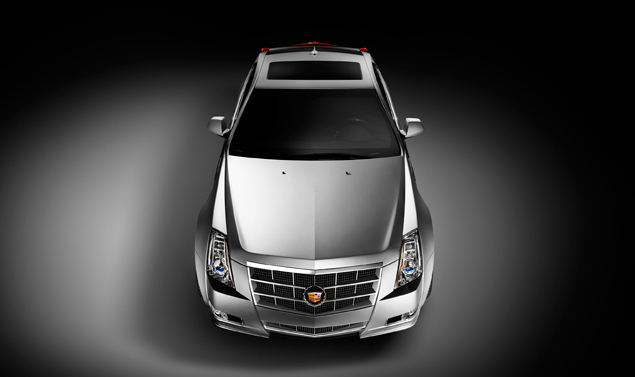 Cadillac CTS Coupe - Frontale alto