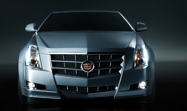 Cadillac CTS Coupe - Il muso