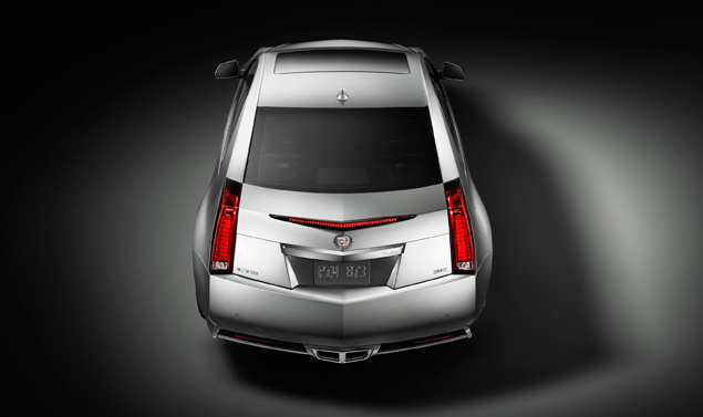 Cadillac CTS Coupe - Posteriore