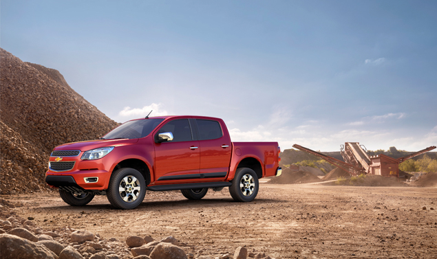 Chevrolet Colorado 2012 - La linea
