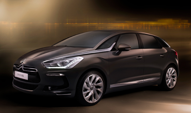 Citroen DS5 - La linea