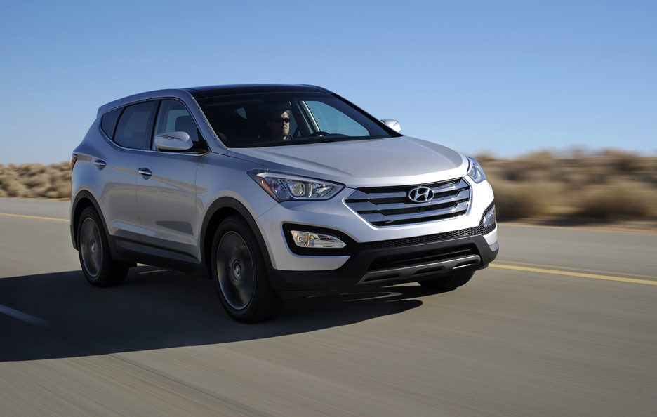Hyundai Santa Fe 2012 - In motion