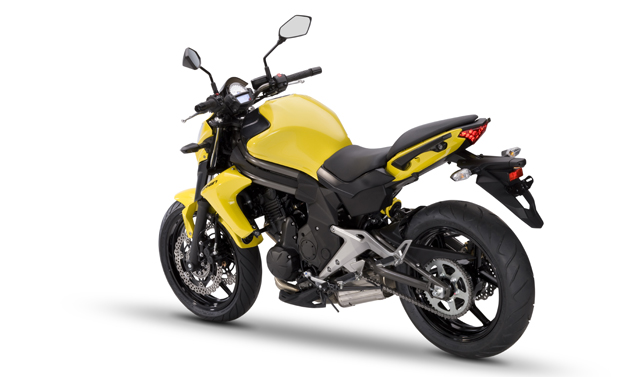 Kawasaki Er-6n My 2012 - Yellow Coda