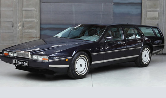 Le auto Nightmare - Aston Martin Lagonda Wagon - Pronta al decollo