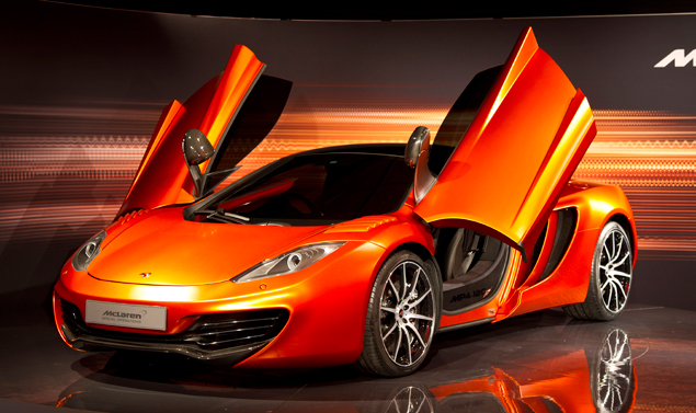 Mc Laren MP4-12C Volcano Orange