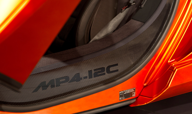 Mc Laren MP4-12C Volcano Orange - Dettagli