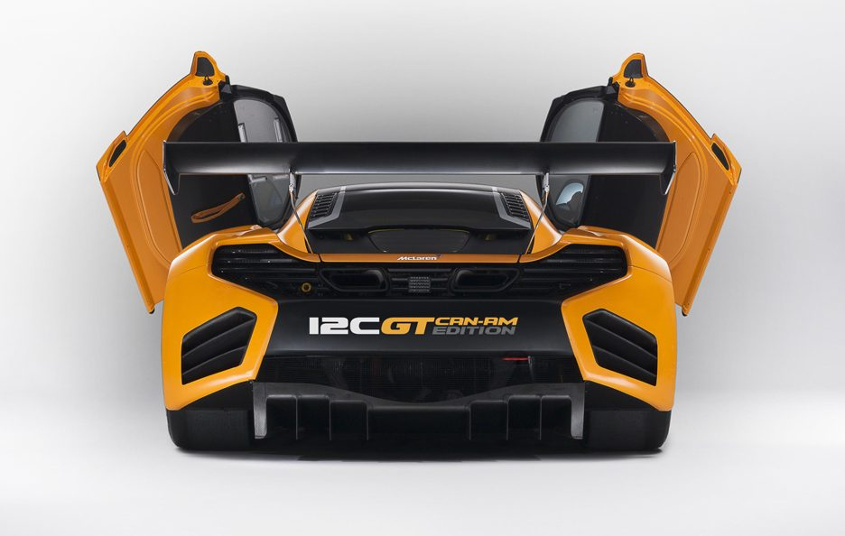 McLaren 12C GT Can-Am Edition - Coda