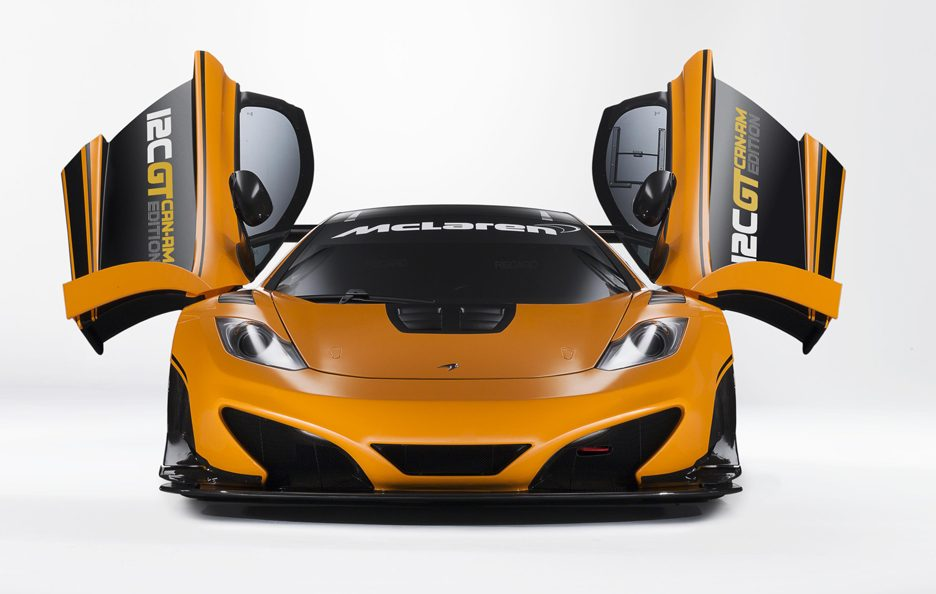 McLaren 12C GT Can-Am Edition - Frontale
