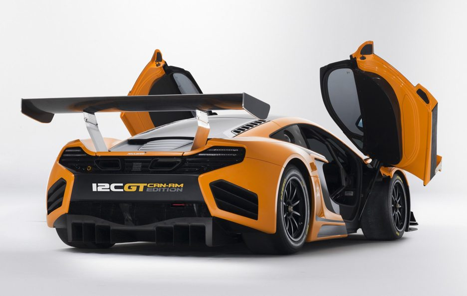 McLaren 12C GT Can-Am Edition - Il retrotreno