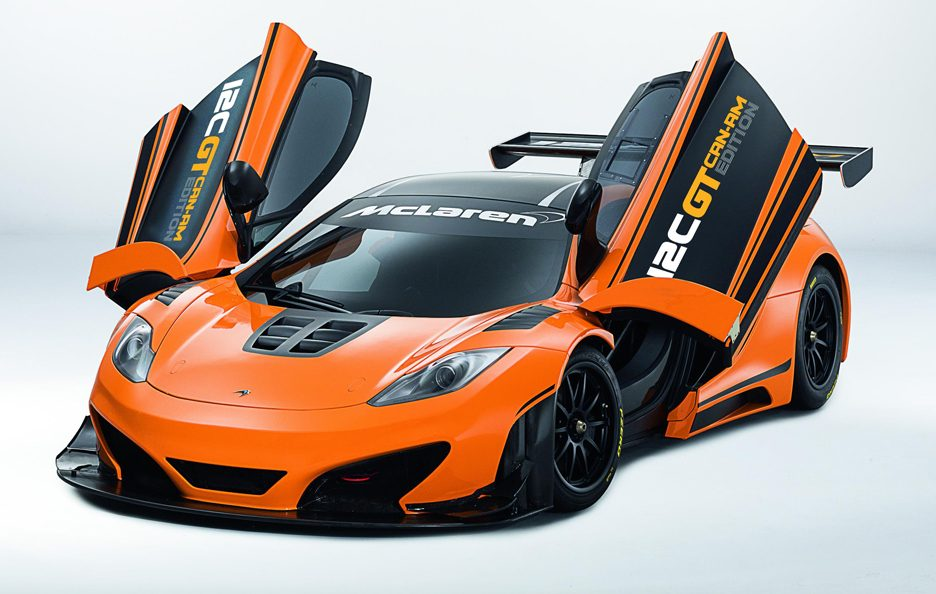 McLaren 12C GT Can-Am Edition - Linee