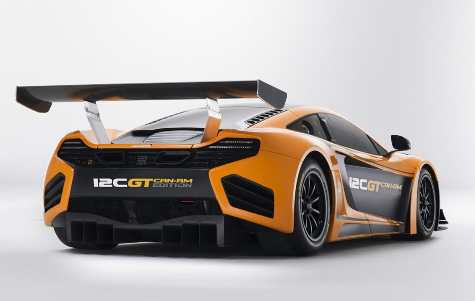 McLaren 12C GT Can-Am Edition - Retrotreno