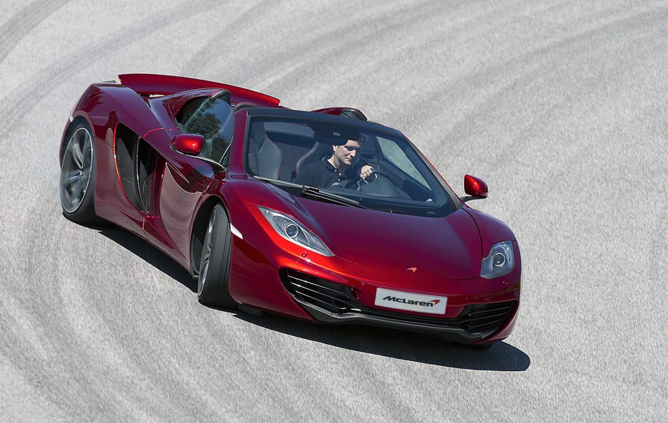 McLaren MP4-12C Spider - In motion