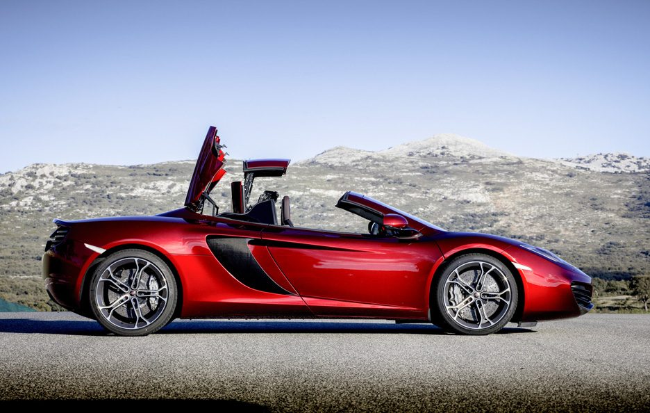 McLaren MP4-12C Spider - Laterale