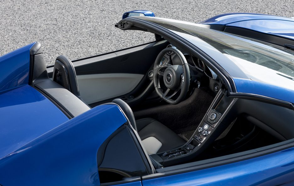 McLaren MP4-12C Spider - Roll bars fissi