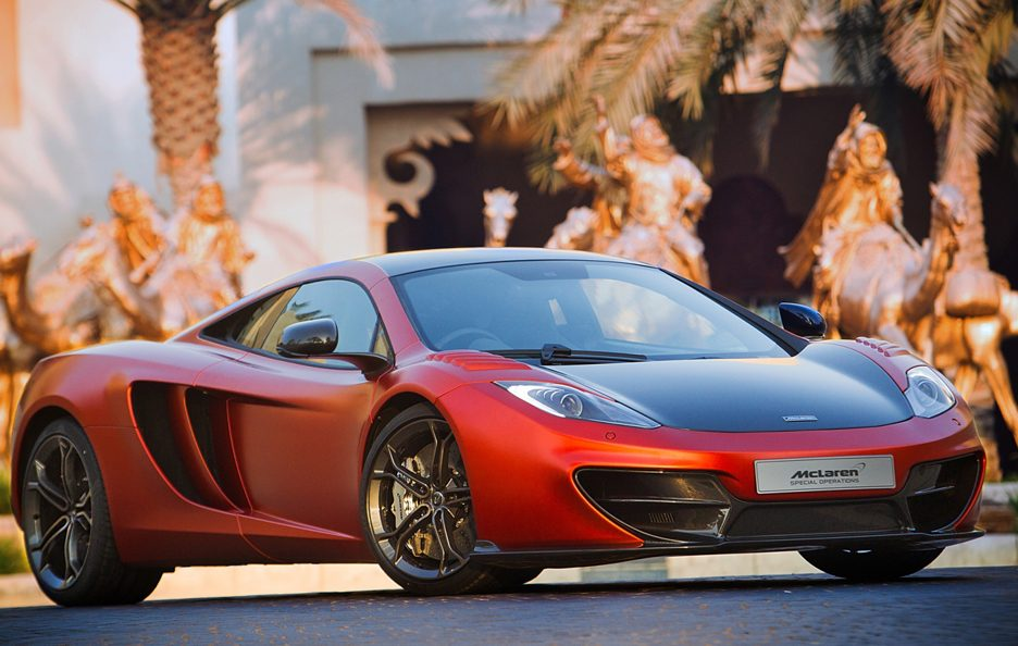 McLaren Mp4-12C - Special Operation Pack