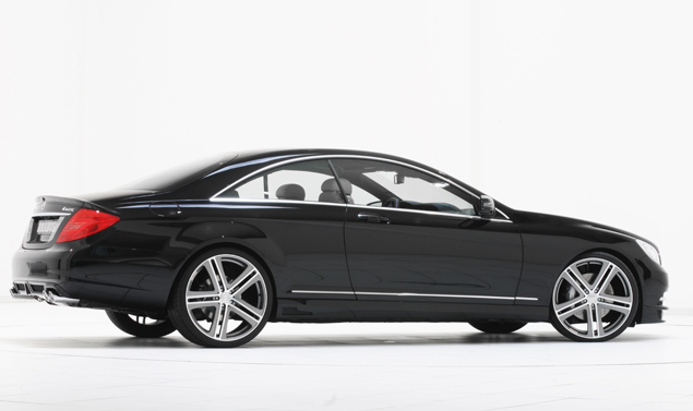 Mercedes CL e S500 by Brabus - Fiancata dx
